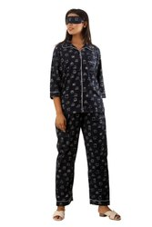 Full Length Female Cotton Night Suit