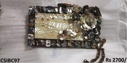 Brass Designer Clutch
