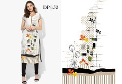 Best Ladies Designer Crepe Kurti