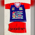 Kids T Shirt With Half Pant Set