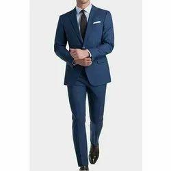 Mens Cotton Formal Two Piece Suit, M-XXXXL