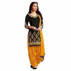 Ladies Cotton Patiyala Trendy Suit