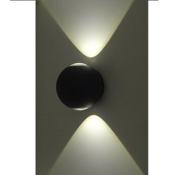 Pure White Ceramic 4 W 2 WayLED Wall Lamps