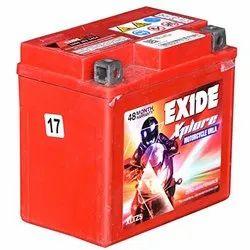 Exide Xplore Xltz5, Capacity: 12v 4 Ah, Warranty: 48 Months