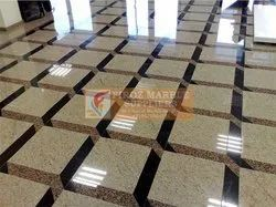 Commercial Building Granite Flooring Laying Service, For Indoor