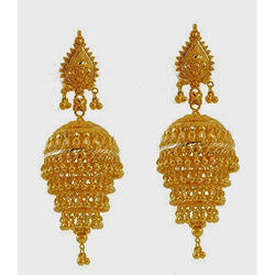 Gold Long Jhumki