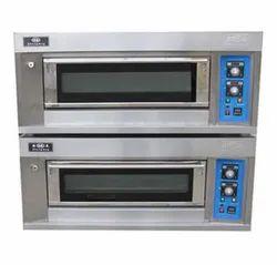 Aahar 14.4 kW/h Double Deck Pizza Oven