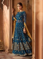Reception Wear Designer Salwar Suits