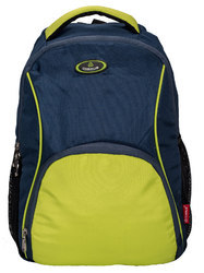 Cosmus Moscow Navy Blue - P Green Laptop Backpack