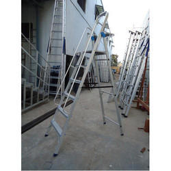 Aluminium Industrial Folding Ladder