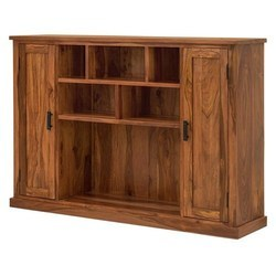 2 Door 5 Open Shelf Sideboard