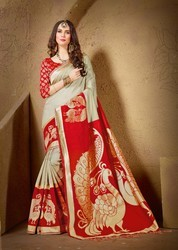 Designer Heavy Silk Saree
