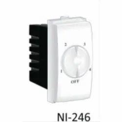 Plastic White Nestone NI-246 Regulator For Ceiling Fan