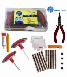 Tirewell TW-5001 9 in 1 Universal Tubeless Tire Puncture Kit Emergency Flat Tyre Repair Patch Tool