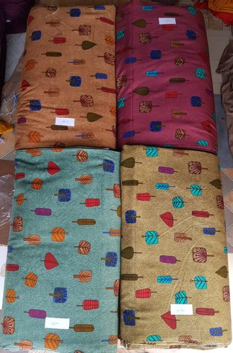 Alisha Plain and Printed Dress Material Rayon Fabric 120gm 140 Gm, Packaging Type: Box Packing, Model No: A101