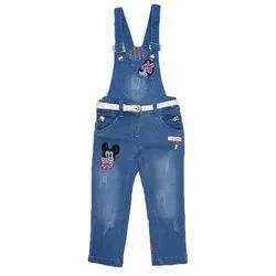 Casual Wear Kids Denim Dungarees, 20x30 and 32x36