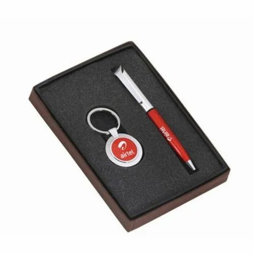 Pen And Key Ring Set