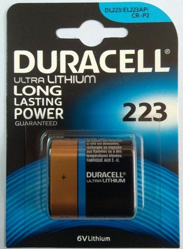 Duracell Lithium Battery CRP2, Voltage: 6 V