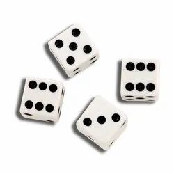 Black And White Gaming Dices