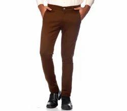 Plain Cotton Mens Casual Pants
