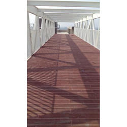 Ideal Brown Floor Deck Fitting Tiles, Usage Area: Outdoor, 15-20 mm