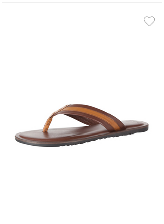 80850942f33a Men Casual Wear Van Heusen Brown Flip Flops VHMMS00805, Rs 1500 ...