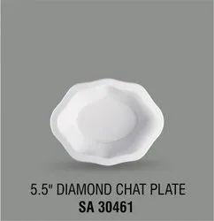 Acrylic Diamond Chat Plate