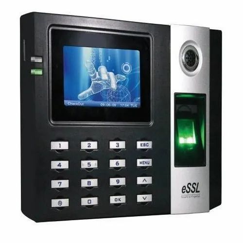 Optical Sensor Fingerprint Access Control ESSL Biometric System, Memory Capacity: 256 MB
