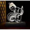 Gojeeva 3D Baby Krishna Decorative Light