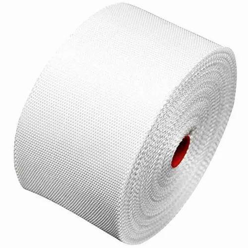 White Woven Fiberglass Tape
