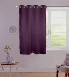 Lushome Torronto Silk Plain Curtain window