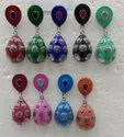 Meenakri PArty Wear Oxidized  Earring