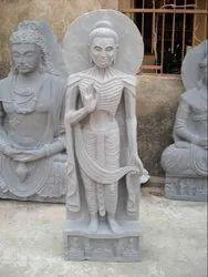Standing Skiny Buddha