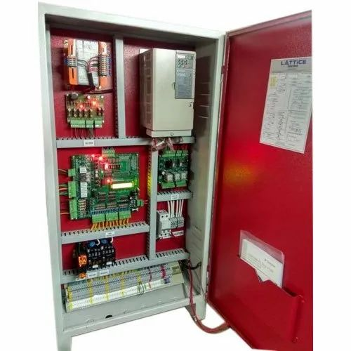 Three Phase Stainless Steel VVVF Elevator Controller, For Lifts, IP Rating: IP44