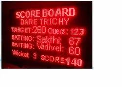 Single Color Outdoor LED Display Board