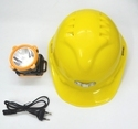 Plastic Safety Hard Hats With Torch