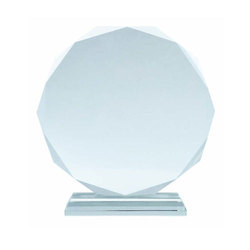 Crystal Engraved Trophy