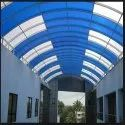 POLYCARBONATE ARCH ROOFING WORK