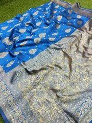 Festive Wear Banarasi Weaving Silk Saree
