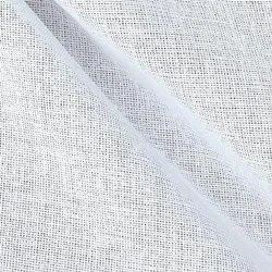 Av products Cotton Plain White Bukram Fabric, For Garments, GSM: 70 To 350