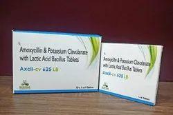 Amoxicillin And Potassium Clavulanate With Lactic Acid Bacillus Tablets