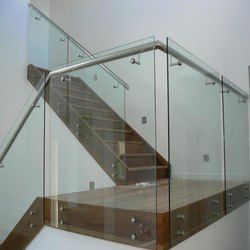 Stainless Steel Tempered Glass Railing