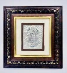 Silver Radha Krishna Frame