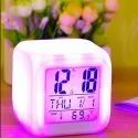 Multi Color Changing Digital Alarm Clock