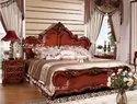 Bhartiye Art Wooden Carving Bed 05