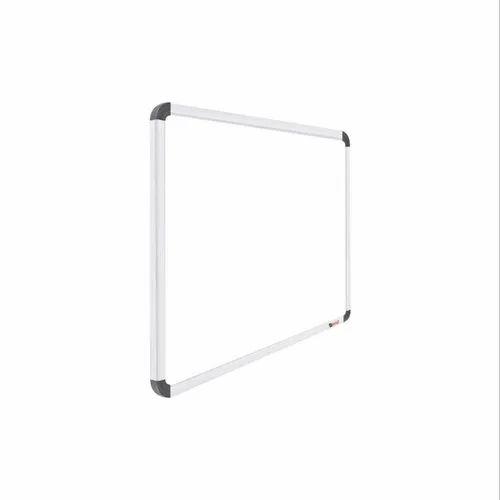 Obasix Swb90120 Superior Whiteboard 3x4 Feet Non Magnetic Heavy Aluminium  Frame