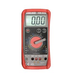 Digit Large Display Digital Multimeter With Terminal Locking System KM 6030