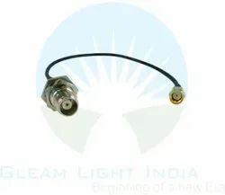 RF Cable Assemblies SMA Male to TNC Female Bulkhead in LMR 200