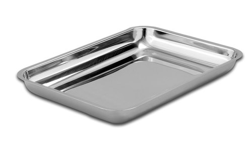 Stainless Steel Square Instrument Tray, For Hospital