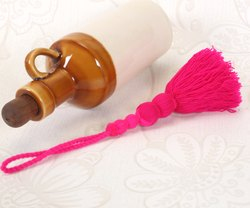 Acrylic Pink Tassel